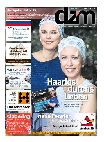 Dorfzytig Ausgabe Juli 2018