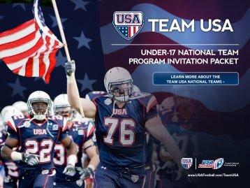 TeAm USA - USA Football