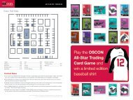Play the OSCON All-Star Trading Card Game and win a ... - O'Reilly