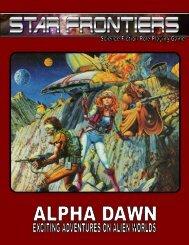 Star Frontiers - Alpha Dawn - Star Frontiersman
