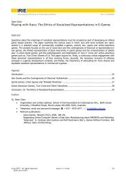 Playing with Race: The Ethics of Racialized Representations in E ...