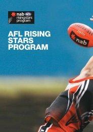 AFL RISING STARS PROGRAM - AFL Community Club