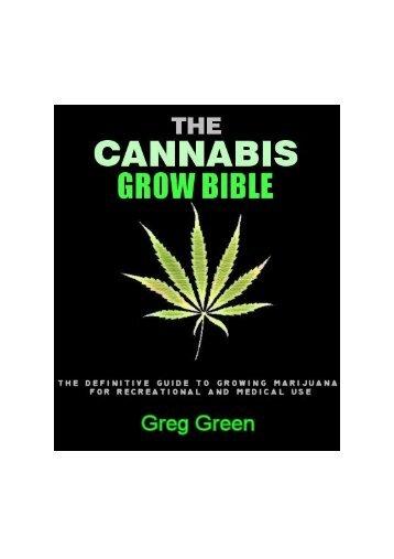 Cannabis Grow Bible - the DMT-Nexus