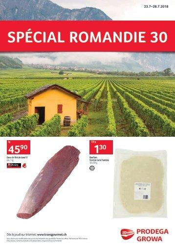 Spécial Romandie 30