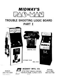 Trouble Shooting Logic Board Part I - The International Arcade ...