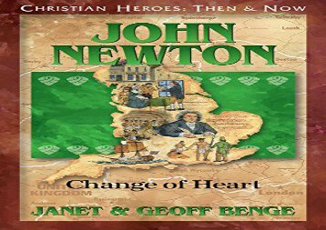 [+][PDF] TOP TREND John Newton: Change of Heart (Christian Heroes : Then   Now)  [DOWNLOAD]