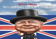 [+]The best book of the month Who Was Winston Churchill? (Who Was...? (Quality Paper)) [PDF]