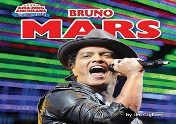 [+][PDF] TOP TREND Bruno Mars (Amazing Americans: Pop Music Stars)  [READ]