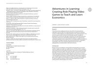 Adventures in Learning: Creating Role Playing Video Games to ...
