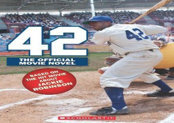 [+]The best book of the month 42: The True Story of Jackie Robinson  [READ]