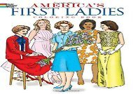 [+]The best book of the month America s First Ladies Coloring Book (Dover History Coloring Book)  [FREE]