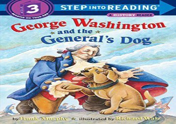 [+]The best book of the month George Washington   Dog (Step Into Reading - Level 3 - Quality)  [FREE]