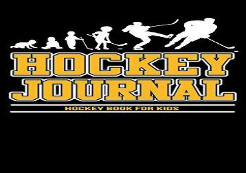 [+][PDF] TOP TREND Hockey Journal: Hockey Book For Kids, Personal Stats Tracker , 100 Games, 7 x 10  [FREE]