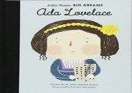 [+]The best book of the month Ada Lovelace (Little People, Big Dreams)  [FREE]