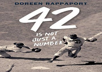 [+]The best book of the month 42 Is Not Just a Number: The Odyssey of Jackie Robinson, American Hero  [READ]