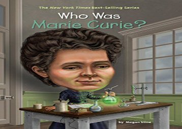 [+]The best book of the month Who Was Marie Curie?  [FREE]