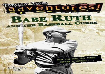 [+]The best book of the month Babe Ruth and the Baseball Curse (Stepping Stones: A Chapter Book: True Stories) (Stepping Stone Books)  [DOWNLOAD]
