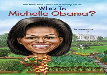 [+][PDF] TOP TREND Who Is Michelle Obama? (Who Was...?)  [FREE]