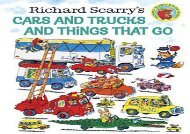 [+]The best book of the month Cars and Trucks and Things That Go  [READ]