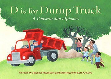 [+]The best book of the month D Is for Dump Truck: A Construction Alphabet (Sleeping Bear Alphabet Books)  [FREE]