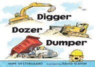 [+]The best book of the month Digger, Dozer, Dumper  [FREE]