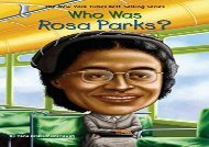 [+][PDF] TOP TREND Who Was Rosa Parks? [PDF]