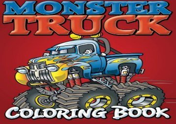 [+]The best book of the month Monster Trucks Coloring Book  [FREE]