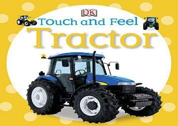 [+]The best book of the month Touch and Feel: Tractor (DK Touch and Feel)  [FREE]