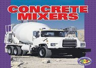 [+]The best book of the month Concrete Mixers (Pull Ahead Books (Paperback)) (Pull Ahead Mighty Movers)  [FREE]