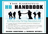 [+][PDF] TOP TREND Essential Hr Handbook: A Quick and Handy Resource for Any Manager or HR Professional [PDF]