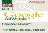 [+]The best book of the month Ultimate Guide to Google AdWords: How to Access 100 Million People in 10 Minutes (Ultimate Series) [PDF]
