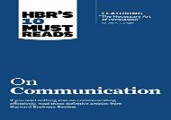 [+][PDF] TOP TREND HBR s 10 Must Reads on Communication (with featured article