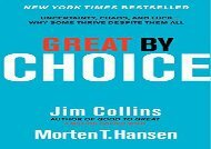 [+][PDF] TOP TREND Great by Choice: Uncertainty, Chaos, and Luck--Why Some Thrive Despite Them All  [NEWS]