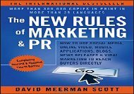 [+]The best book of the month The New Rules of Marketing   PR: How to Use Social Media, Online Video, Mobile Applications, Blogs, News Releases, and Viral Marketing to Reach Buyers Directly  [FREE]