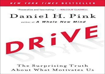 [+][PDF] TOP TREND Drive: The Surprising Truth About What Motivates Us  [DOWNLOAD]