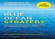 [+]The best book of the month Blue Ocean Strategy, Expanded Edition: How to Create Uncontested Market Space and Make the Competition Irrelevant  [READ]