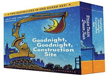 [+][PDF] TOP TREND Goodnight, Goodnight, Construction Site and Steam Train, Dream Train Boxed Set  [FULL]