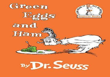 [+][PDF] TOP TREND Green Eggs and Ham  [READ]