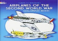 [+]The best book of the month Airplanes of the Second World War Coloring Book (Dover History Coloring Book)  [FREE]
