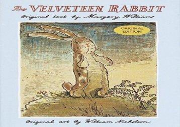 [+][PDF] TOP TREND The Velveteen Rabbit  [READ]