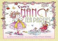 [+]The best book of the month Fancy Nancy Tea Parties  [NEWS]