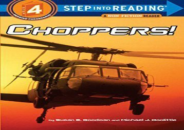 [+]The best book of the month Choppers! (Step Into Reading - Level 4 - Quality)  [FREE]