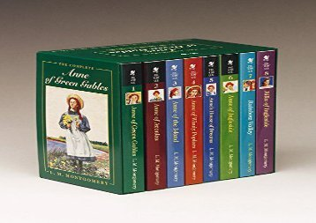 [+]The best book of the month Anne of Green Gables Complete 8 Book Box Set  [FULL]