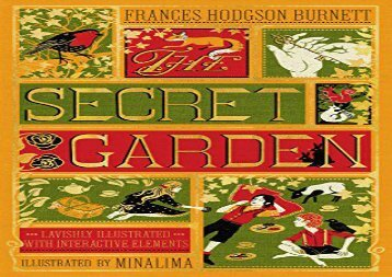[+][PDF] TOP TREND The Secret Garden (Illustrated with Interactive Elements) (Illustrated Classics)  [READ]