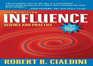 [+][PDF] TOP TREND Influence: Science and Practice  [READ]