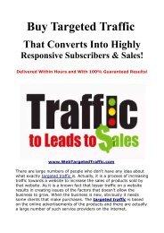 Buy Targeted Traffic,  Buy Real Traffic,  Targeted Website Traffic
