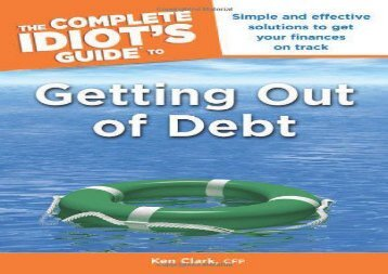 [+][PDF] TOP TREND The Complete Idiot s Guide to Getting Out of Debt (Complete Idiot s Guides (Lifestyle Paperback)) [PDF]