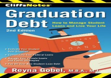 [+]The best book of the month Cliffsnotes Graduation Debt: How to Manage Student Loans and Live Your Life, 2nd Edition (CliffsNotes (Paperback)) [PDF]