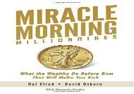 [+][PDF] TOP TREND Miracle Morning Millionaires: What the Wealthy Do Before 8AM That Will Make You Rich (The Miracle Morning) [PDF]