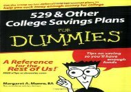 [+]The best book of the month 529 and Other College Savings Plans For Dummies  [DOWNLOAD]